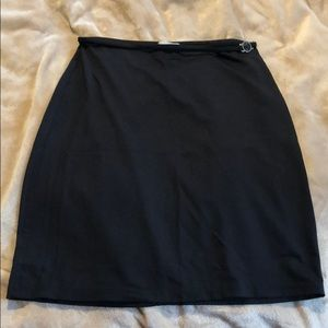 Versace Black Skirt
